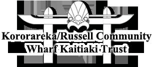 Kororareka / Russell Community Wharf Kaitiaki Trust Logo